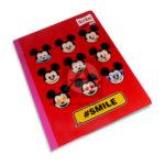 cuaderno cosido  Master MH-S Personajes de Disney Mickey Mouse Scribe 100 hojas Grande Niño  cuadriculado