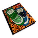 cuaderno cosido  Master Motivo de Zapatillas Freestyle Scribe Grande 100 hojas cuadriculado Niño