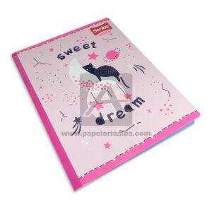 cuaderno cosido Master Sweet Dream Scribe rayado Niña Grande 100 hojas