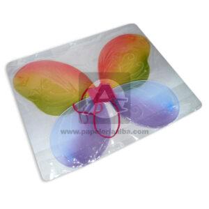 disfraz alas de mariposa N°8355 Fival Multicolor Pequeño Niña