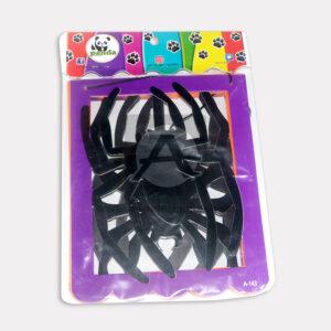 guirnalda de cuadros motivos de araña Panda morado Negro Mediano