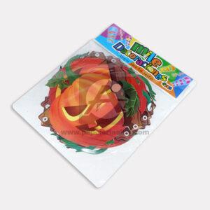 guirnalda de halloween motivo de Calabaza Mile Decoraciones naranja Grande