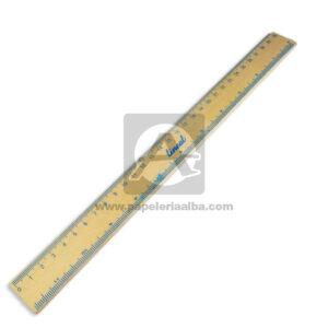 regla escolar marca Lineal Madera 30 cm