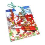 Bolsa de Regalo  clásica motivo navideño N° 003 Primavera Grande L 1 unidad unisex