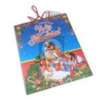 Bolsa de Regalo  clásica motivo navideño N° 004 Primavera Grande L 1 unidad unisex