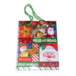 Bolsa de Regalo  clásica motivos navideños N°004 Primavera M Mediana  1 unidad unisex