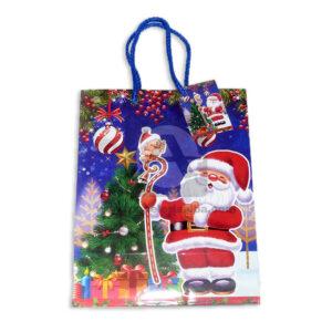 Bolsa de Regalo clásica motivos navideños N°005 Primavera Grande 1 unidad unisex