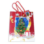 Bolsa de Regalo  clásica motivos navideños N°010 Primavera M Mediana  1 unidad unisex