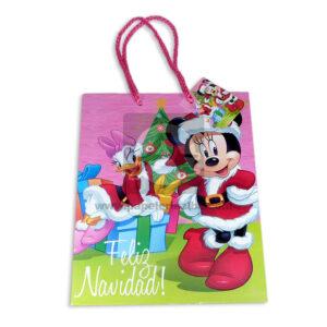 Bolsa de Regalo clásicapersonajes Minnie Mouse N°001 Primavera M Mediana 1 unidad Niña