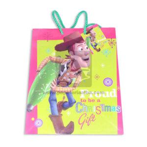 Bolsa de Regalo clásicapersonajes toy story motivo navideño N°013 Primavera M Mediana 1 unidad Niño