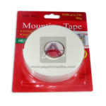cinta multiuso  doblez faz mounting tap Geoz Blanca Grande 2.4cm x 5yds