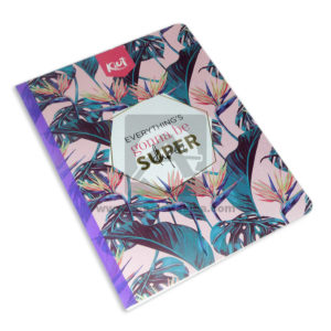 cuaderno cosido Kiut Everything´s gonna be super Norma Grande 100 hojas cuadriculado femenino
