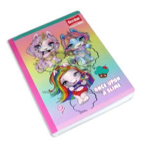 cuaderno cosido Master M+S Motivo 3 Bebés Poopsie Scribe Grande 50 hojas cuadrito Niña