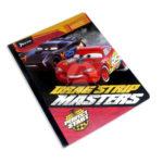 cuaderno cosido  con sticker motivo Cars Perfect Start Norma Grande 50 hojas rayado Niño