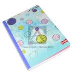 cuaderno cosido  fino In Colors Planetas de colores variados Scribe Grande 100 hojas cuadriculado Niña