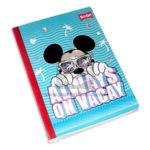 cuaderno cosido  fino Mickey Mouse Always On Vacay Scribe Grande 100 hojas rayado Niño