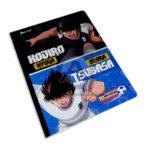 cuaderno cosido  fino con stickers super campeones N°002 Norma Grande 100 hojas cuadriculado Niño