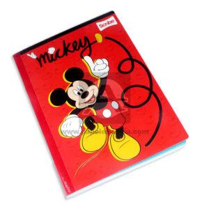cuaderno cosido fino mickey mouse Scribe Grande 100 hojas cuadriculado Niño