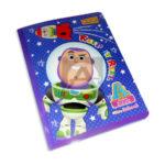 cuaderno cosido  fino pre-escolar Toy Story Tipo A Primavera Grande 100 hojas cuadrito Niño