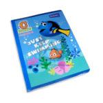 cuaderno cosido  fino pre-escolar buscando a dory Tipo C con formato Primavera Grande 100 hojas doble linea unisex