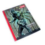 cuaderno cosido  modelo de spiderman stealth suit Scribe rayado 100 hojas Grande