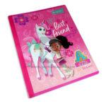 cuaderno cosido  para niños de pre-escolar Tipo A Primavera Grande 100 hojas Cuadros Progresivos Niña