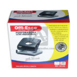 perforadora  Ref-350 100% Eficiente  Offi- Esco Negro Grande