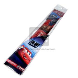 regla personajes disney pixar Cars Primavera 30 cm Niño 1 unidad