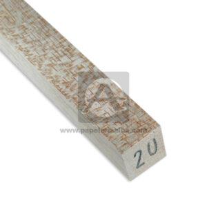 Palo de Balso económico Urabalso Cuadrado 20mm x 20mm beige 1 unidad