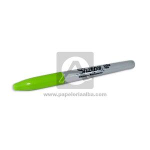 Permanentes marcador Modelo 018 Sharpie Punta fina Verde Lima 1 unidad