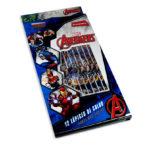 color  Estampado Avengers Marvel Primavera 12 unidades Niño  Punta gruesa
