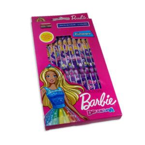 color Estampado Barbie Dreamtopia Primavera 12 unidades Niña Punta gruesa