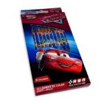 color  Estampado Disney Cars Primavera 12 unidades Niño  Punta gruesa
