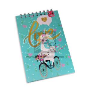 cuaderno argollado vertical Love Lukis cuadriculado Pasta dura Niña