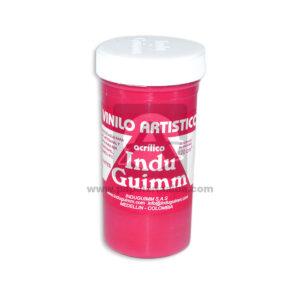 vinilo artístico acrílico N°153 Induguimm 120 cm3 Rojo Carmín