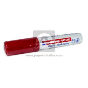 Recargable marcador Borrable Window Marker Ref 4090 Edding Rojo Grande 1 unidad