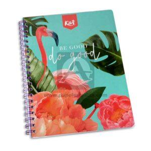 cuaderno argollado 105 Fino Kiut Arg-M10 Norma Grande cuadriculado 100 hojas femenino