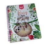 cuaderno argollado  105 Fino Kiut Arg-M7 Norma Grande cuadriculado 100 hojas femenino