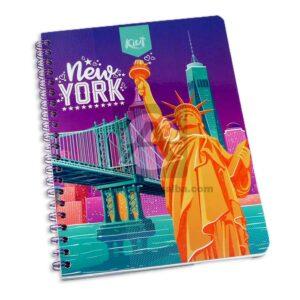 cuaderno argollado 105 Fino Kiut Arg-M9 Norma Grande cuadriculado 100 hojas femenino