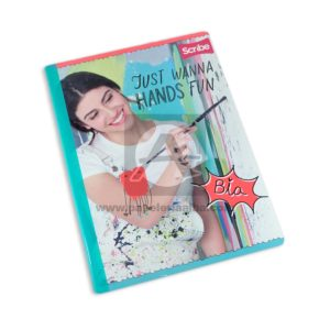 cuaderno cosido Bia Disney Scribe Grande 100 hojas cuadriculado Niña