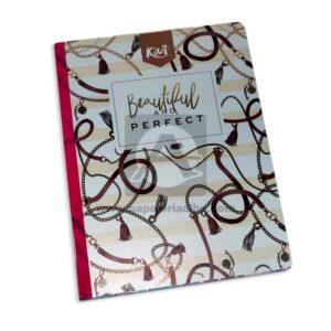 cuaderno cosido Fino Kiut Md-N4 Norma Grande cuadriculado 100 hojas femenino