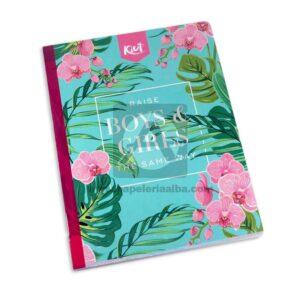 cuaderno cosido Fino Kiut Md-N9 Norma Grande cuadriculado 100 hojas femenino