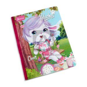 cuaderno cosido Peluches Connis Norma Grande 100 hojas cuadriculado Niña