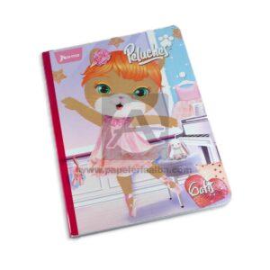 cuaderno cosido Peluches Gatis Norma Grande 100 hojas cuadriculado Niña