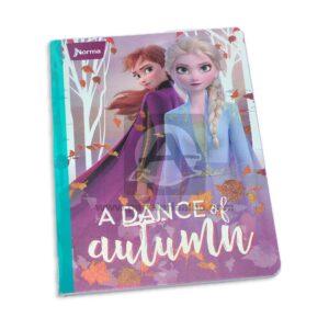 cuaderno cosido de Frozen 2 Elsa y Anna Norma Grande 100 hojas cuadriculado Niña