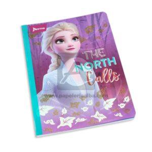 cuaderno cosido de Frozen 2 Norma Grande 100 hojas cuadriculado Niña