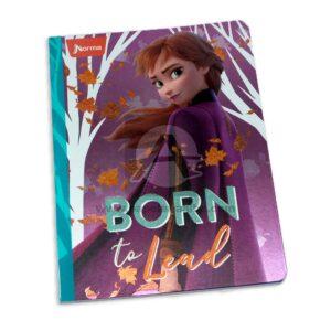 cuaderno cosido de frozen 2 Anna Norma Grande 100 hojas cuadriculado Niña