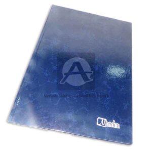 Libro de Actas Empastado Económico 300 Folios Marden Azul 1 unidad