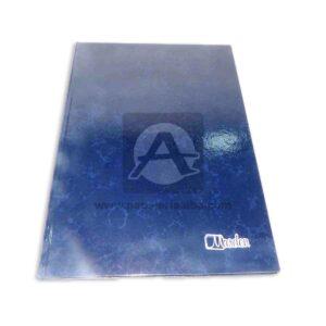 Libro de Actas Empastado Económico Marden 200 Folios 1 unidad Azul