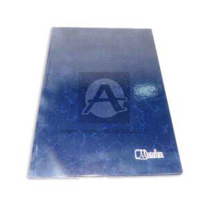 Libro de Actas Empastado Económico Marden 600 Folios Azul 1 unidad